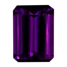 Octagon Genuine Amethyst Single Stone(s)