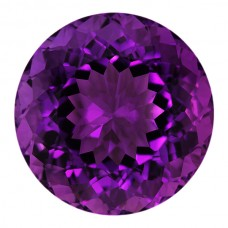 Round Genuine Amethyst Single Stone(s)