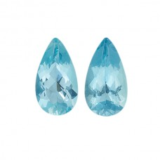 Pear Genuine Aquamarine Single Stone(s)