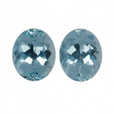 Oval Genuine Aquamarine Single Stone(s)