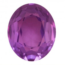 Oval Simulated Alexandrite