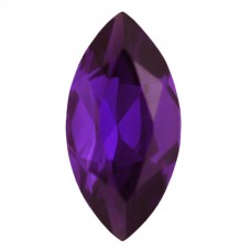 Marquise Simulated Amethyst Doublet