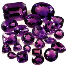 Amethyst Genuine Faceted