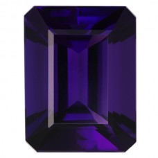 Octagon Genuine Amethyst