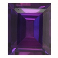 Cushion Simulated Amethyst