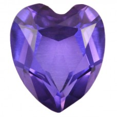 Heart Simulated Amethyst