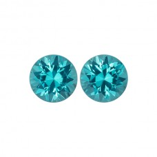 Genuine Apatite Round Pair