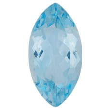 Marquise Genuine Aquamarine