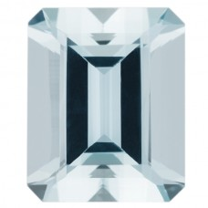 Octagon Genuine Aquamarine