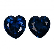 Heart Genuine Blue Sapphire Single Stone(s)