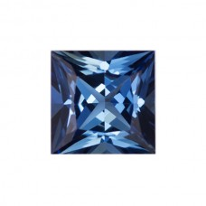 Square Genuine Blue Sapphire Single Stone(s)