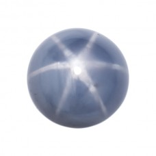 Round Genuine Blue Star Sapphire Single Stone(s)