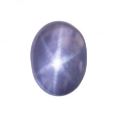 Oval Genuine Blue Star Sapphire Single Stone(s)