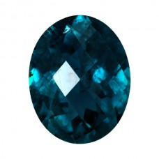 Oval Genuine Blue Tourmaline Single Stone(s)