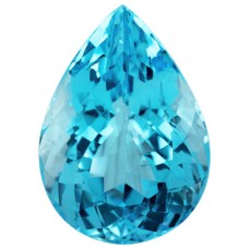 Pear Genuine Blue Topaz Single Stone(s)