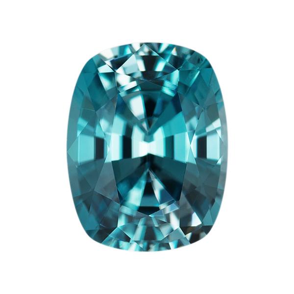 Antique Genuine Blue Zircon Single Stone(s)