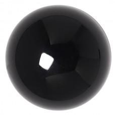 Round Genuine German Cabochon Black Onyx