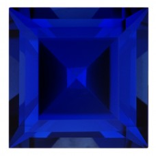 Square Lab Created Blue Sapphire