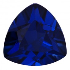 Trilliant Lab Created Blue Sapphire