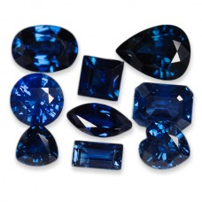 Blue Sapphire Genuine Faceted