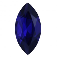 Marquise Synthetic Blue Sapphire