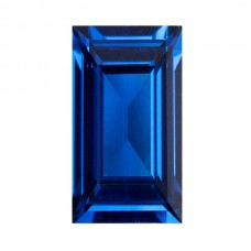 Baguette Synthetic Blue Spinel