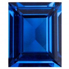 Cushion Synthetic Blue Spinel