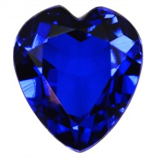 Heart Synthetic Blue Spinel