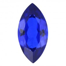 Marquise Synthetic Blue Spinel