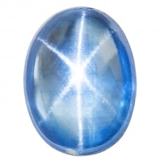 Oval Cab Man-Made Star Quartz