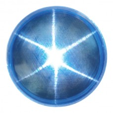 Round Cab Man-Made Star Quartz