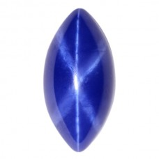Marquise Synthetic Cab Blue Star Sapphire