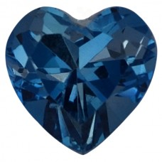 Heart Genuine Blue Topaz