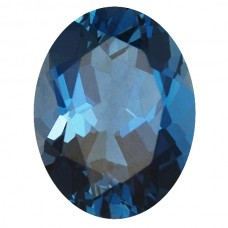 Oval Genuine Blue Topaz