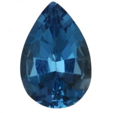 Pear Genuine Blue Topaz