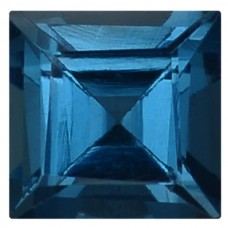 Square Genuine Blue Topaz