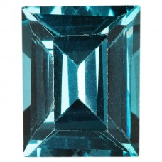 Cushion Simulated Blue Zircon