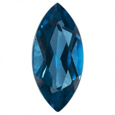 Marquise Simulated Blue Zircon
