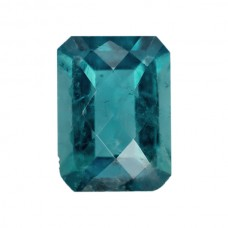 Octagon Genuine Blue Tourmaline Single Stone(s)