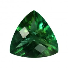 Trilliant Genuine Green Tourmaline Single Stone(s)