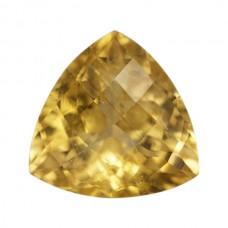 Trilliant Genuine Yellow Tourmaline Single Stone(s)