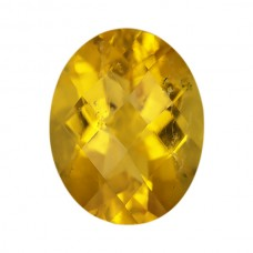 Oval Genuine Yellow Tourmaline Single Stone(s)