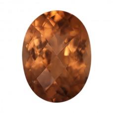 Oval Genuine Orange Tourmaline Single Stone(s)