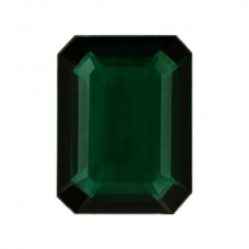 Octagon Lab Created Emerald Single Stone(s)