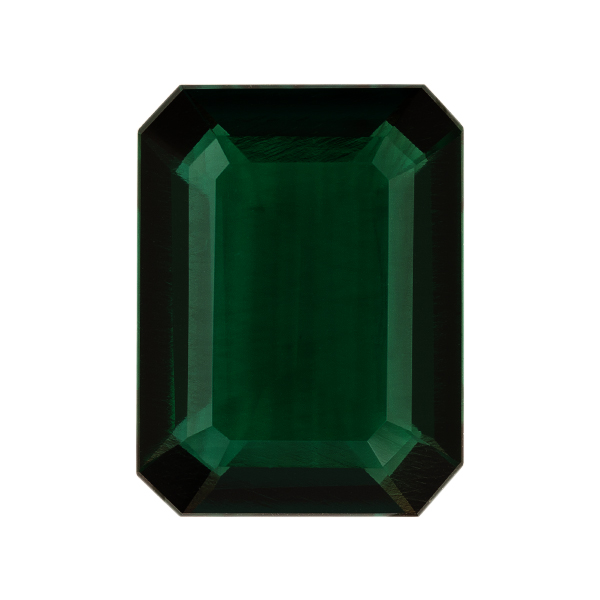 Octagon Lab Created Emerald Single Stone(s)