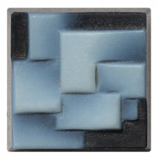 Square Genuine Stone Cameo