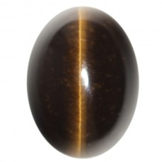 Oval Genuine Cab Brown Catseye Quartz
