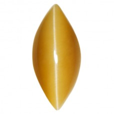 Marquise Genuine Cab Honey Catseye Quartz