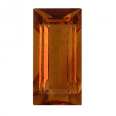 Baguette Genuine Citrine Quartz