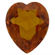 Heart Genuine Citrine Quartz